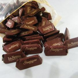 Giandujotti chocolate negro